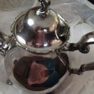 Vintage Webster-Wilcox International Silver Co. teapot.