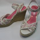 Franco Sarto Floral Wedge Shoes