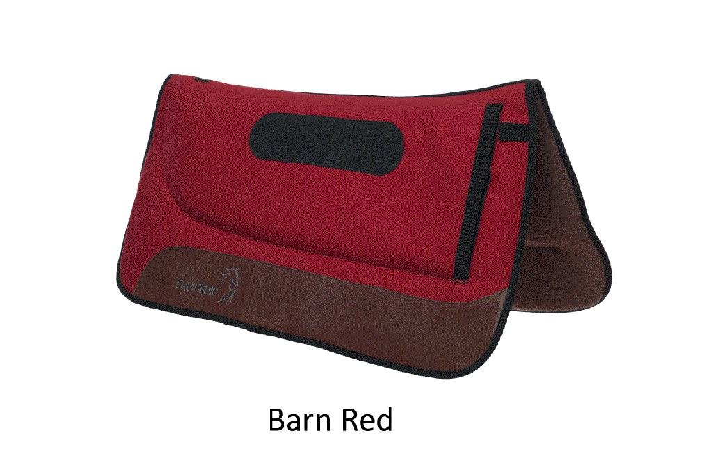 "EquiPedic Western Saddle Pad, 32"",Memory foam, choose color"