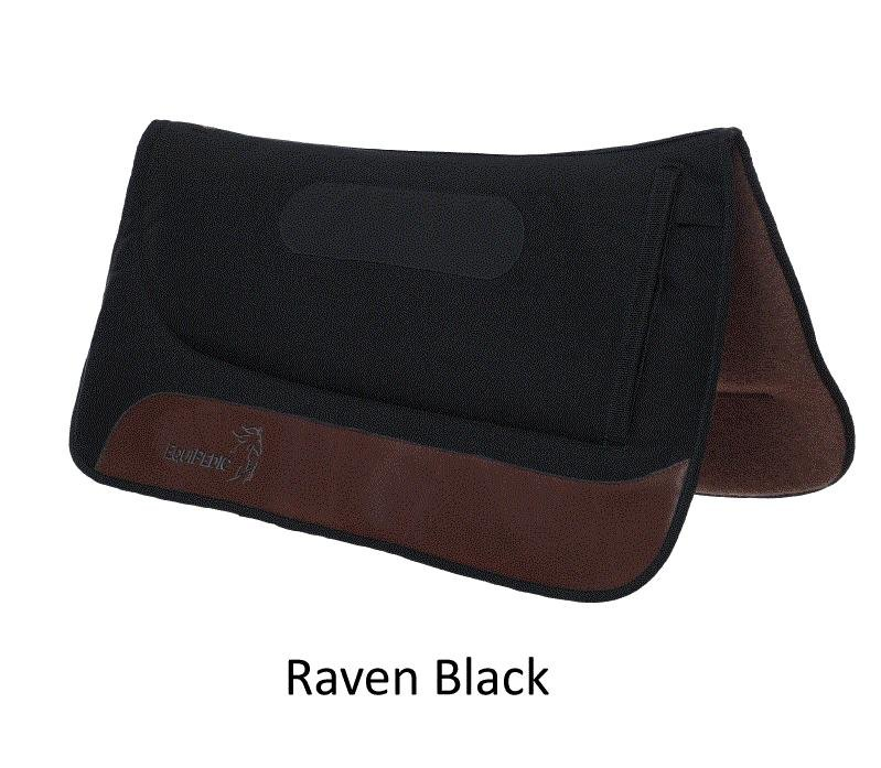 "EquiPedic Western Saddle Pad, 30"", memory foam, choose color"
