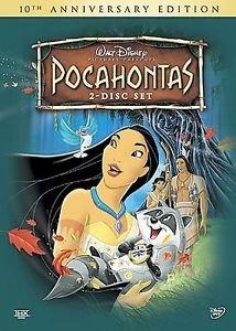 Pocahontas (DVD, 2005, 2-Disc Set Slip Cover)