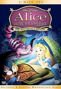 Alice in Wonderland (DVD, 2004, 2-Disc Set, The Masterpiece Edition)