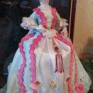 100% Handmade Victorian Porcelain Doll