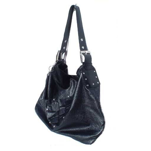Large Accent Hobo (Black)