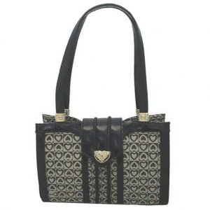 Signature Heart Handbag (Black)