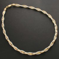 Two tone Twisted Neck wire