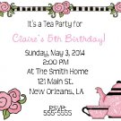 10 Tea Party Birthday Invitations