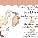10 Storks - Baby Shower Invitations