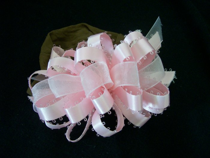 Light Pink Ribbon Bow