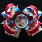 Disney princess hair Bow, Princess Hair Bow, Stacked Hair Bow