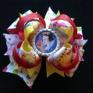 Disney princess-Snow White Hair Bow, Stacked Hair Bow