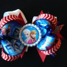 Disney Frozen-Elsa & Anna Hair Bow, Stacked hair Bow