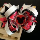 Minnie Mouse-Boutique Stacked Hair Bow