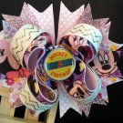 Michey Hair Bow, Disney Minnie Mouse Hair Bow