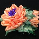 Tsumami Kanzashi Flower, Ribbon Flower Clip