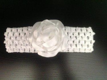 Kanzashi Flower Headband, Tsumami Kanzashi,Ribbon Flower Headband, Girls Flower Headband