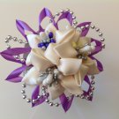Kanzashi Flower Headband, Tsumami Kanzashi, Ribbon Flower Headband, Girls Flower Headband