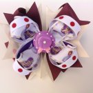 Disney Sofia Stacked Hair Bow