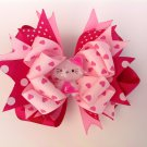 Hello Kitty, Sweet Heart Stacked Hair Bow