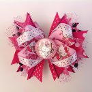 Hello Kitty Stacked Hair Bow