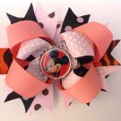 Disney Minnie Mouse Stacked Hair Bow- Multiple Colors