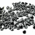38 Cts twt. Black Diamond Lot size 8.0-10.0 mm (2.0 - 3.50 cts)