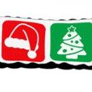 Christmas Nylon Ribbon Leash 1 inch wide