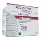 Accu Chek Performa 50x2 Diabetic Test Strips(100 Strips) Expiry 11/2014 or Later