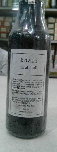 Khadi Ayurveda Trifalla Hair Oil for Hair Skin Diseases &Removing Mental Tension