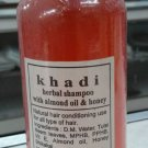 Khadi Herbal Shampoo with Almond Oil & honey  - 1 X 210 ML/ 7fl. Oz - From India