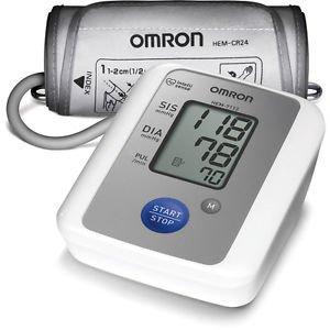 New OMRON HEM 7113 Blood Pressure Digital BP Monitor + Hypertension Indicator