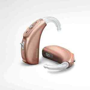 BRAND NEW Phonak Bolero Q 30 P Power Hearing Aid BTE beige - Moderate To Severe