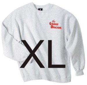 Crew Neck Ash Sweat Shirt X-Large
