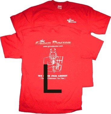 Red T-Shirt L. Old GD Design