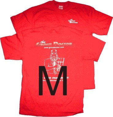 Red T-Shirt M. Old GD Design