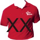 Grout Doctor Sport Shirt Red Size XX-Large