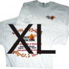 Extra long White T X-Large