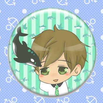 Makoto_fanart pinback button
