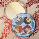 Round hand mirror (Samezuka fan art)
