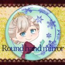 Round hand mirror (Elsa fan art)