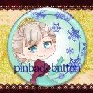 Elsa_fanart pinback button