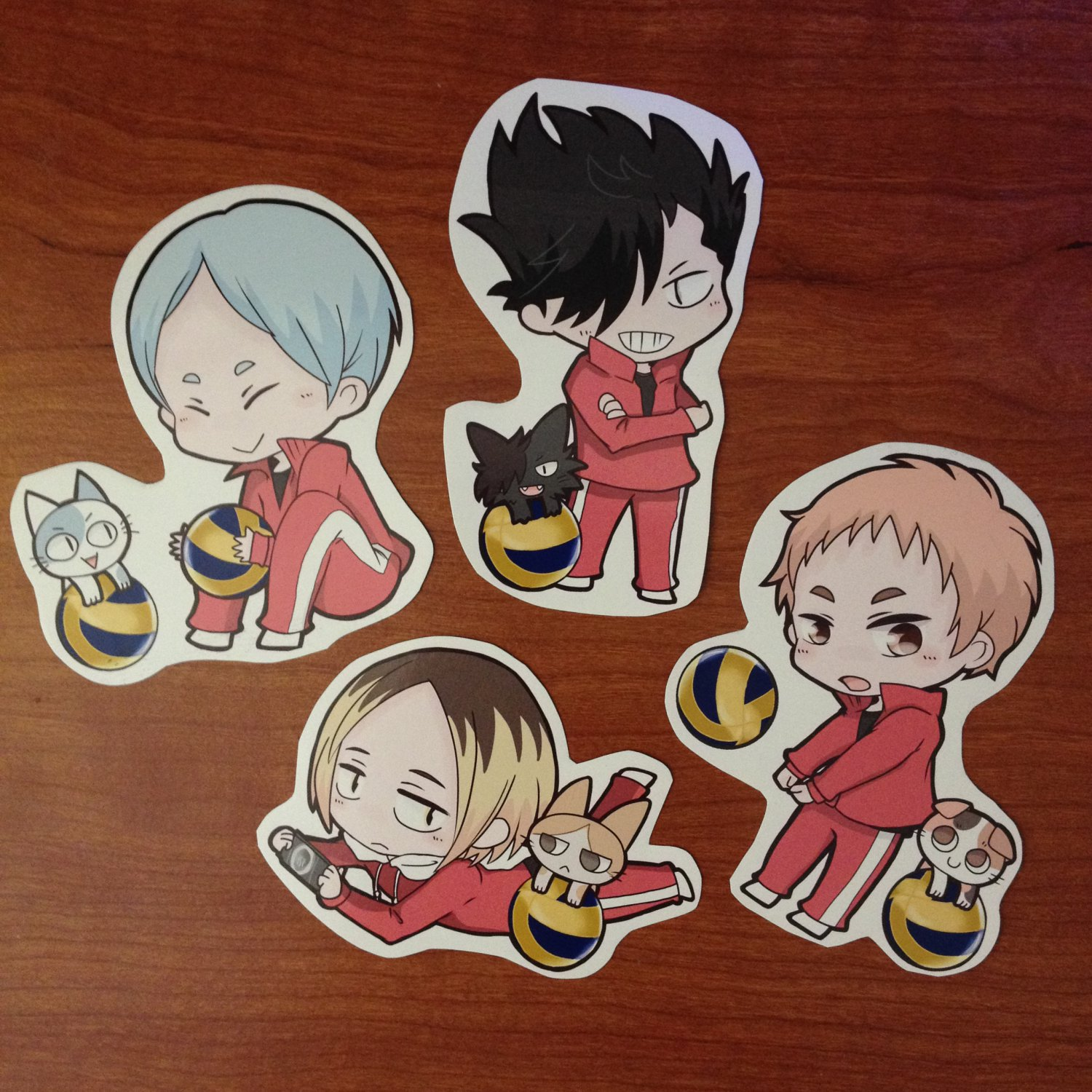 HQ_fanart Sticker set