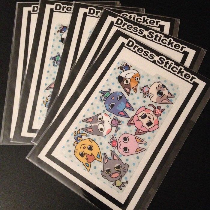 IC card Sticker_Cats
