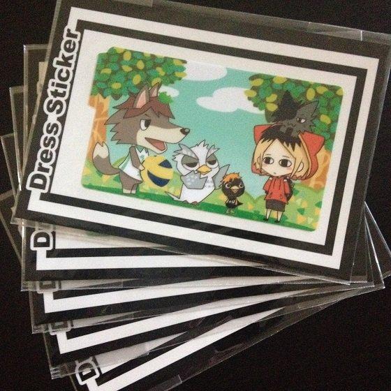 IC card Sticker_Haikyuu fanart