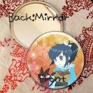 Round hand mirror (Yasusada_Touken ranbu fan art)