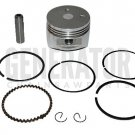 Honda HHE31C HHT31S FG100 Engine Motor Piston Kit with Rings Parts 39mm
