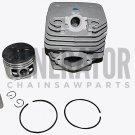 Zenoah G5200 Chainsaw Engine Motor Cylinder Kit 45mm w Piston & Rings Parts