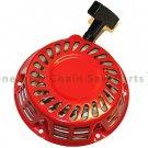 Honda Gx120 Gx140 Motor Generator Lawn Mower Pull Start Recoil Rewind Red Parts