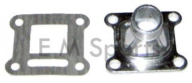 Mini Pocket Bike Parts Aluminum Intake Manifold 47 49cc