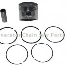 Piston Kit w Rings Lifan Pressure Storm PS2555 PS2765 Washer LF2WP Water Pumps